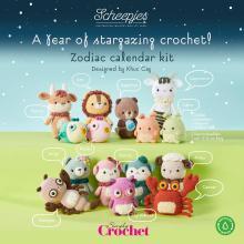 NIEUW: Exclusieve Scheepjes Zodiac Calendar Kits
