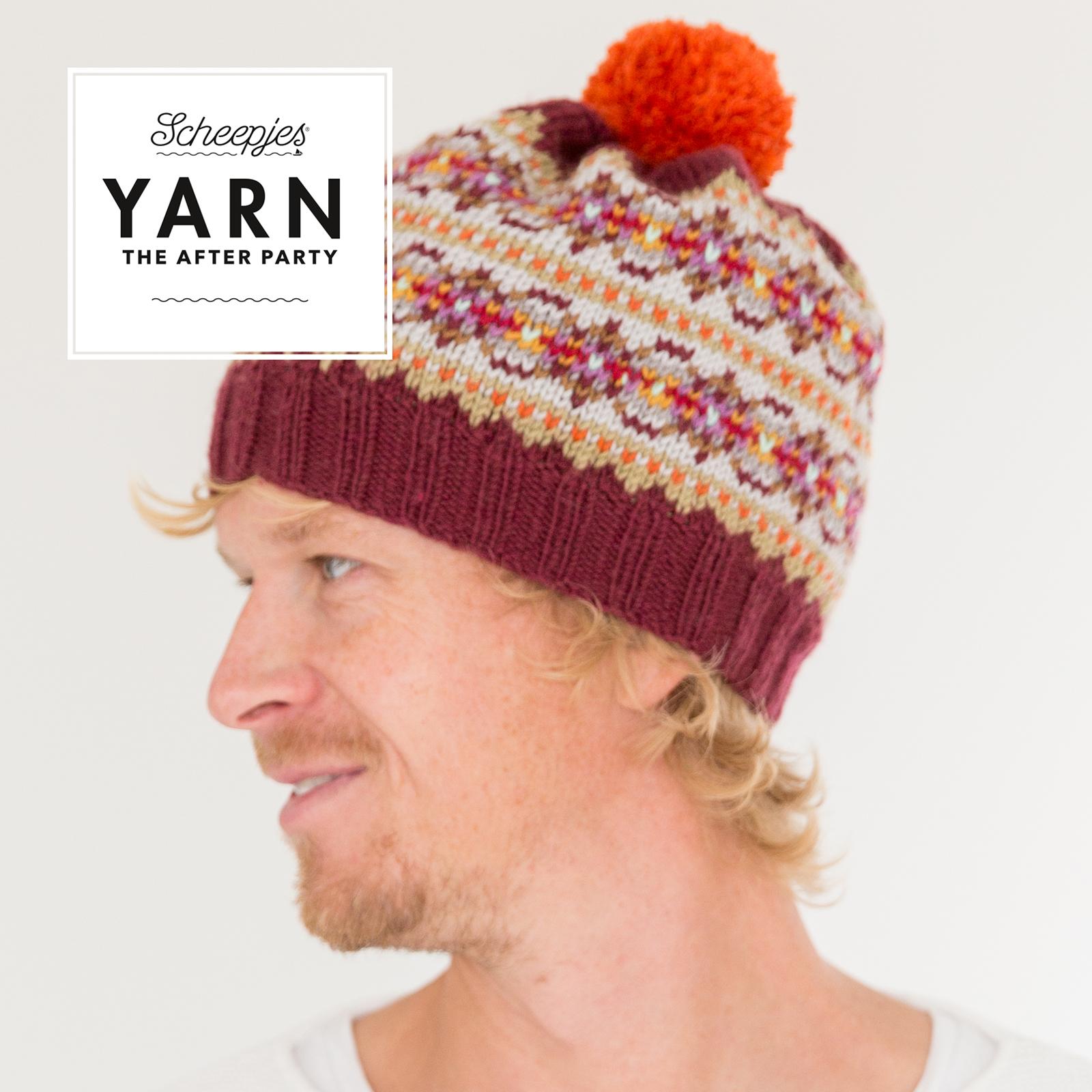 Autumn Colours Bobble Hat