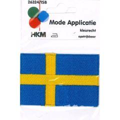 Applicatie Vlag Zweden - 5st
