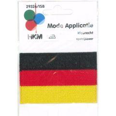 Applicatie Vlag Duitsland - 5st
