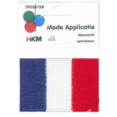 Applicatie Vlag Frankrijk - 5st