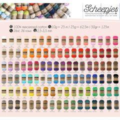 Scheepjes Catona assortiment 5x50g - 103 kleuren - 1st