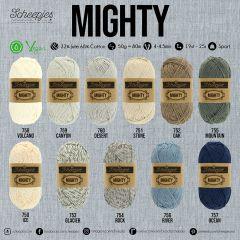 Scheepjes MIGHTY assortiment 5x50g - 11 kleuren - 1st