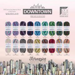 Scheepjes Downtown assortiment 5x50g - 18 kleuren - 1st