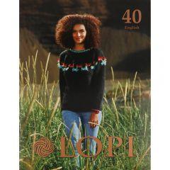 Lopi Boek nr.40 Engels - 1st