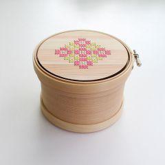 Cohana Magewappa opbergbox borduurring 12cm - 1st