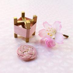 Cohana Sakura Mizuhiki spoel en draaddoorhaler roze - 1st