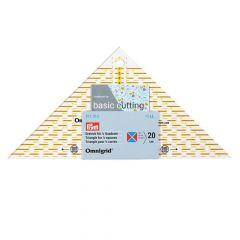 Prym Omnigrid driehoek voor 1/4 - 1/2 kwadraat - 3st