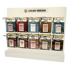 Organ Needles Toonbankdisplay - 5x10 soorten - 1st