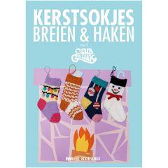Kerstsokjes breien en haken - Marieke Voorsluijs - 1st