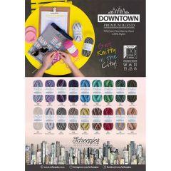 Scheepjes Downtown poster A2 formaat - 1st