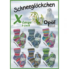 Opal XLarge Schneeglöckchen assortiment 4x150g - 6 kl. - 1st