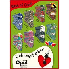 Opal Best of Opal assortiment 5x100g - 8 kleuren - 1st