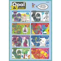 Opal 25 Jahre assortiment 5x100g - 8 kleuren - 1st