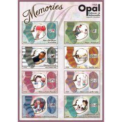 Opal Memories 4-draads ast. 5x100g - 8 kleuren - 1st