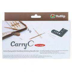Tulip CarryC Fine Gauge verwis. breipunten set bamboe - 1st