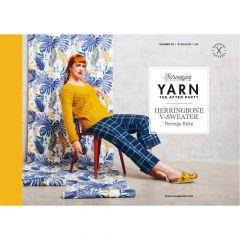 YARN The After Party nr.98 Herringbone V-Sweater - 20st