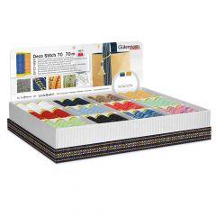 Gütermann Display box deco stitch nr.70 12x5x70m - 1st
