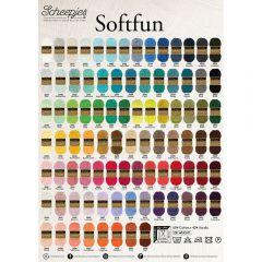 Scheepjes Softfun poster A2 formaat - 1st