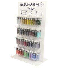 Toho Display glaskralen rond 8-0 - 3x4g - 44 kleuren - 1st