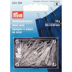 Prym Spelden staal zilver - 1-5st