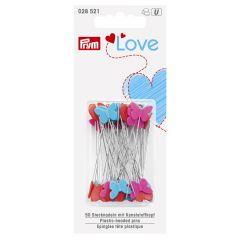 Prym Love spelden met plastic kop 50x0.60mm - 5x50st