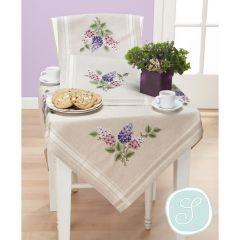 Simy's Borduurpakket voorbedrukt tafelkleed of -loper - 1st