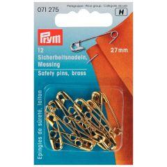 Prym Veiligheidsspelden goud - 5x12st