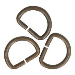 D-ringen 12mm - 50st - Brons