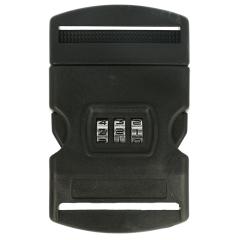 Turbo sluiting met cijferslot 50mm zwart - 10st