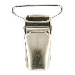 Bretelclips Zilver - 24st