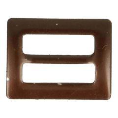 Gespjes brons 15mm - 25st - Brons