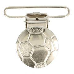 Bretelclips voetbal nikkel 36mm - 10st