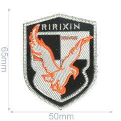 Label ririxin 50x65mm zwart-zilver - 5st