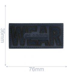 Label wear classic rechthoek - 5st