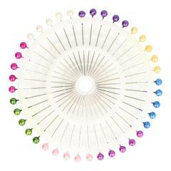 Rozet 40 gekleurde spelden - 36st