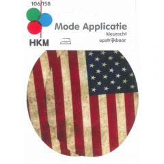 HKM Kniestukken USA 85x105mm - 5st