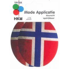 Applicatie Kniestukken Noorwegen - 5st