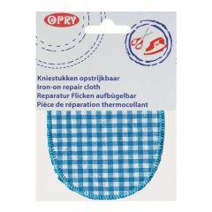 Opry Kniestukken opstrijkbaar ruit 11,5x9cm - 5st