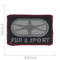 Applicatie Fun & Sport reflecterend - 5st