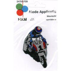 Applicatie Motorcoureur van voren - 5st