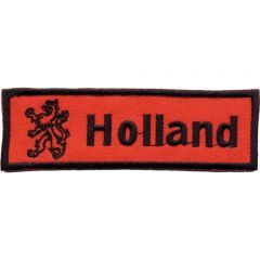 Applicatie Label Leeuw en Holland oranje - 5st