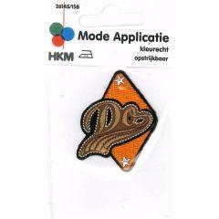 Applicatie Do in driehoek Oranje - 5st