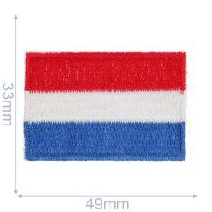 HKM Applicatie Nederlandse vlag - 5st