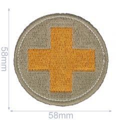 HKM Applicatie kruis cirkel 58x58mm - 5st