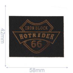 Applicatie Hotride donker-/lichtbruin - 5st
