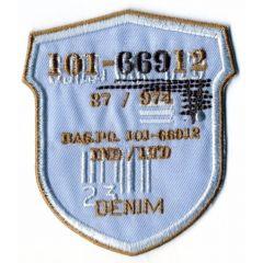 Applicatie 101-66912 DENIM - 5st