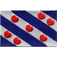 Applicatie Vlag Friesland - 5st