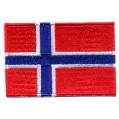 Applicatie Vlag Noorwegen - 5st