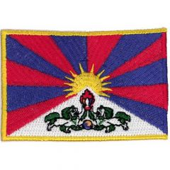 Applicatie Vlag Tibet - 5st